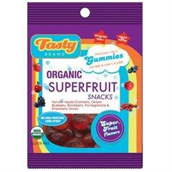 Tasty Brand Organic Fruit Snacks Superfruit