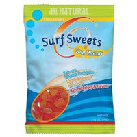 Surf Sweets Sour Worms, 2.75 oz