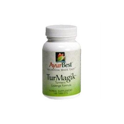 TurMagik, 100 Tablets, Komal Herbals AyurBest
