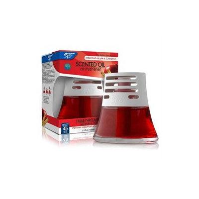 Bright Air BRI900022 Air Freshener Scented Oil Macintosh Apple- Cinnamon