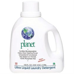 PLANET Laundry Detergent Liquid Ultra 100 OZ