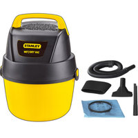 Stanley 1-gallon, 1.5-peak horse power, wet dry vacuum