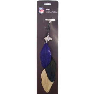 Baltimore Ravens Team Color Feather Hair Clip