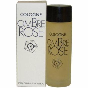 Jean Charles Brosseau Ombre Rose for Women Eau de Cologne, 3.4 oz