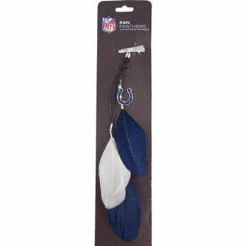 Indianapolis Colts Official NFL Feather Hair Clip by Little Earth 153588