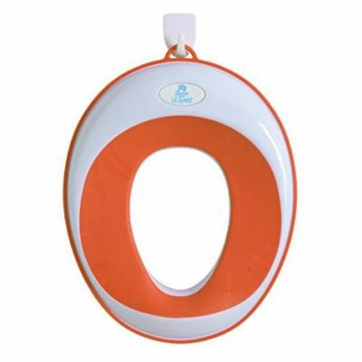 Lil' Jumbl Toilet Seat Topper Ring for Potty Training - Orange