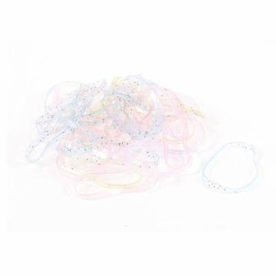 Girl Lady 41 Pcs Multi Color Stretch Hair Rubber Bands Hair Ties Bands