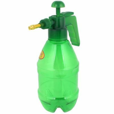 Clear Green Car Cleaning Plastic Handle Water Spray Pressure Sprayer Bottle 0.8L