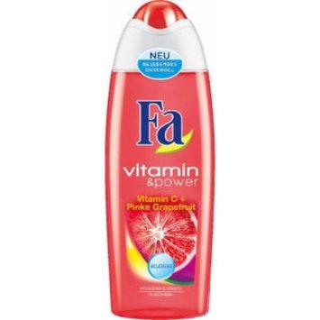 Fa Vitamin & Power Pink Grapefruit Shower Gel 250 ml / 8.3 fl oz (2-Pack)