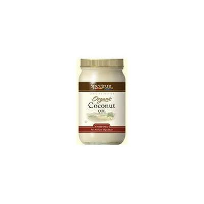 Spectrum Essentials Organic Coconut Oil Body Care, EA 1/15 OZ (Pack of 2)