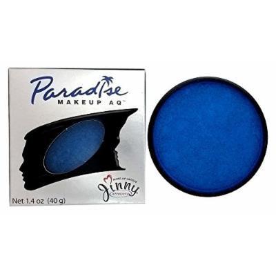 Mehron Paradise METALLIC BRILLANT DK. BLUE AZUR - Face and Body Paint Pro Size 1.4 oz