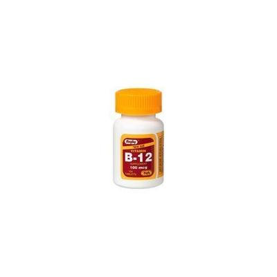 Rugby Vitamin B-12 100mcg 100 Count Pack of 2