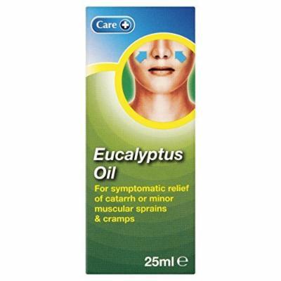 Care 12 X Eucalyptus Oil 25Ml