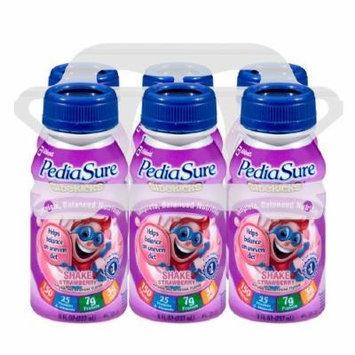PediaSure Sidekicks Complete, Balanced Nutrition Shake, 8 fl oz Bottles, Strawberry 6 ea (Pack Of 2)