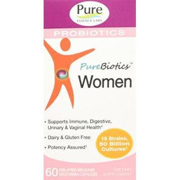 Pure Essence Pure Biotic Women DR Vegetarian Capsules, 60 Count