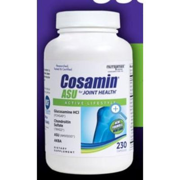 Cosamin ASU Joint Health Active Lifestyle Glucosamine HCl Chondroitin Sulfate AKBA 230 capsules (1 bottle (230 capsules))