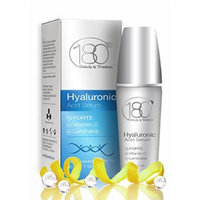 180 Cosmetics - Hyaluronic Acid Serum with Vitamin C Forte - Super Strong Hyaluronic Acid For Anti Aging Skin Care - Best Firming Serum - Anti Aging Moisturizer - Anti Wrinkle Serum 1oz