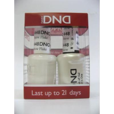 DND *Duo Gel* (Gel & Matching Polish) Spring Set 448 - Snow Flakes