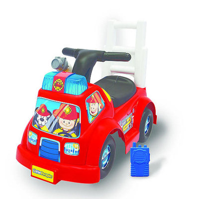 Moose Mountain Fisher Price Little People Fire Truck Ride-On