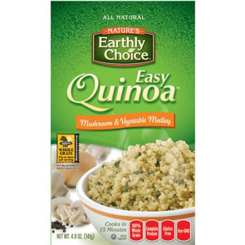 Natures Earthly Choice Mushroom and Vegetable Medley Quinoa