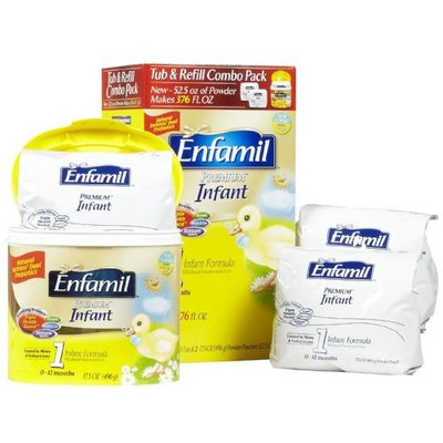 Enfamil PREMIUM Infant Formula Tub & Refill Combo Pack - 52.5 oz
