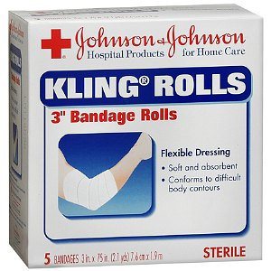 Johnson & Johnson Red Cross Kling Gauze Rolls