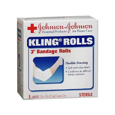 Johnson & Johnson Red Cross Kling Gauze Rolls