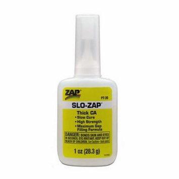 Pacer Glue PT20 Slo ZAP CA Glue, 1 oz
