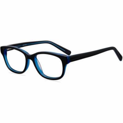 Contour Youths Prescription Glasses, FM14044 Black/Blue