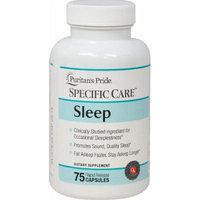 Puritan's Pride Specific Care Sleep-75 Capsules