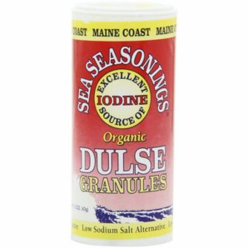 Maine Coast Dulse Granules Organic Sea Seasoning, 1.5 oz, (Pack of 4)