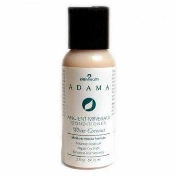 Adama White Coconut Conditioner Zion Health 2 oz Liquid