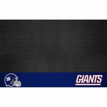 FanMats NFL New York Giants Vinyl Heavy Duty Grill Mat