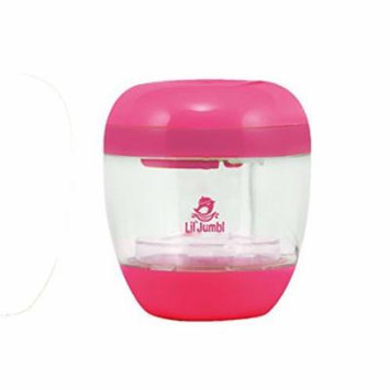 Lil' Jumbl Pacifier & Baby Bottle Nipple UV Sanitizer - Pink