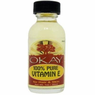 Okay 100% Pure Vitamin E Oil, 1 oz