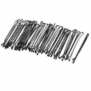 37 Pcs Black Metal Hair Barrette Bar Bobby Pins Clips for Women