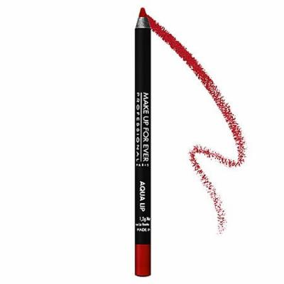 MAKE UP FOR EVER Aqua Lip Waterproof Lipliner Pencil Red 8C 0.04 oz