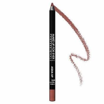 MAKE UP FOR EVER Aqua Lip Waterproof Lipliner Pencil Beige Brown 5C 0.04 oz