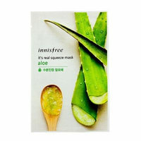 Innisfree It's Real Squeeze Mask 5pcs (Aloe)