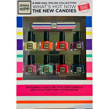 Jenna Hipp 8 Mini Nail Polish Collection What's Hot Now the New Candies Spring 2015 Collection