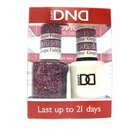 DND *Duo Gel* (Gel & Matching Polish ) Glitter Set 409 Grape Field Star