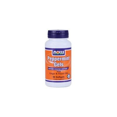 Now Foods Peppermint Gels, 90 Sgels (Pack of 2)