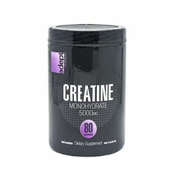 ADEPT NUTRITION Creatine Supplement, 400 Gram