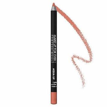 MAKE UP FOR EVER Aqua Lip Waterproof Lipliner Pencil Nude Beige 1C 0.04 oz