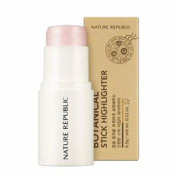 Nature Republic - Botanical Stick Highlighter - 01 Shine Pink - Make Up