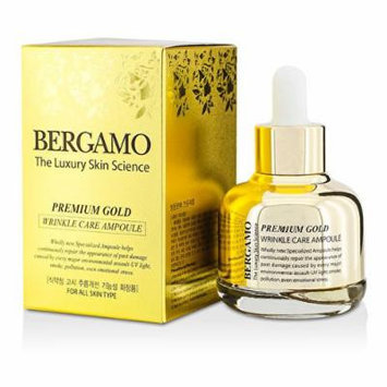 BERGAMO The Luxury Skin Science Premium Gold Wrinkle Ampoule 30ml
