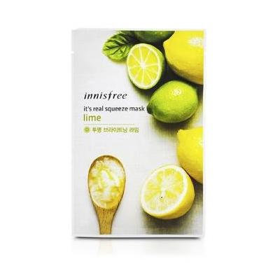 Innisfree It's Real Squeeze Mask 5pcs (Lime)