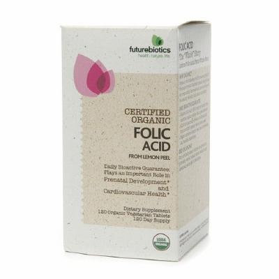 Futurebiotics Certified Organic Folic Acid 120 tab