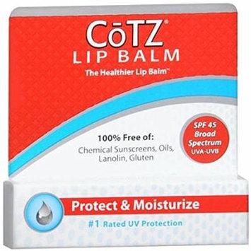 CoTZ Lip Balm, SPF 45 0.14 oz (4.5 g) Pack of 12