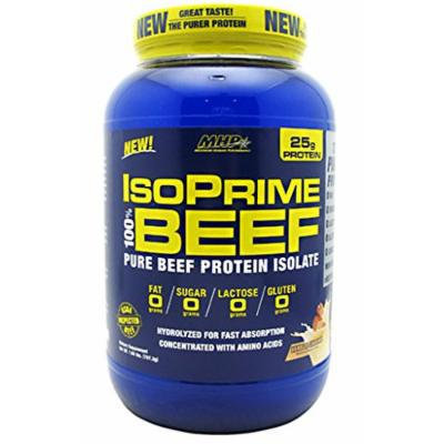 IsoPrime Beef Protein By MHP, Vanilla Caramel 28 Servings